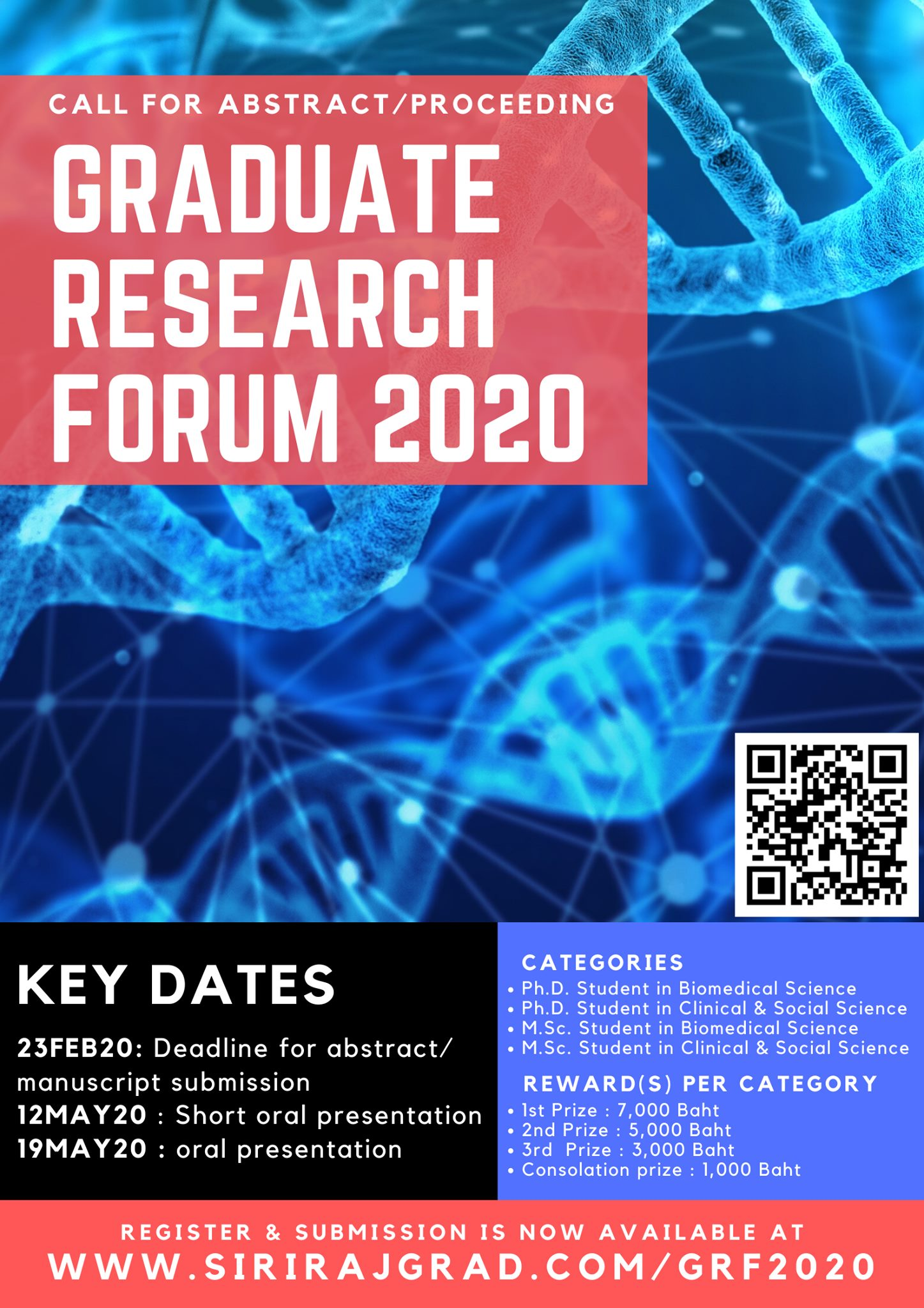 Graduate Research Forum 2020