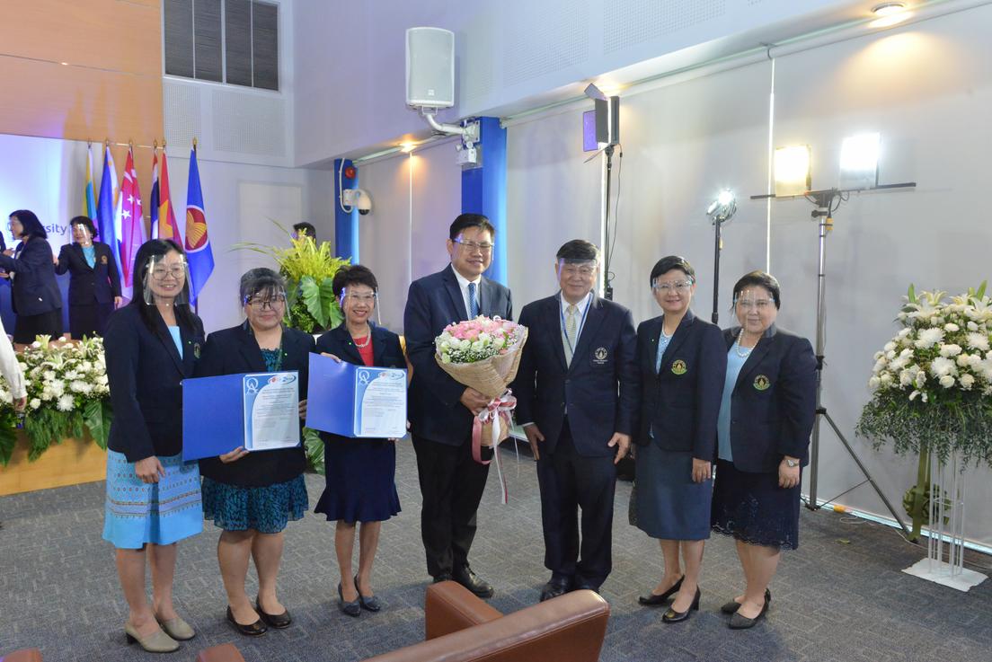 ขอแสดงความยินดีกับหลักสูตรที่ได้รับประกาศนียบัตรรับรองมาตรฐานคุณภาพการศึกษาตามเกณฑ์ AUN-QA ระดับอาเซียน ประจำปี 2563