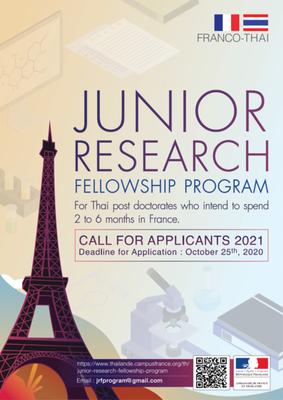 JUNIOR RESEARCH FELLOWSHIP PROGRAM 2021